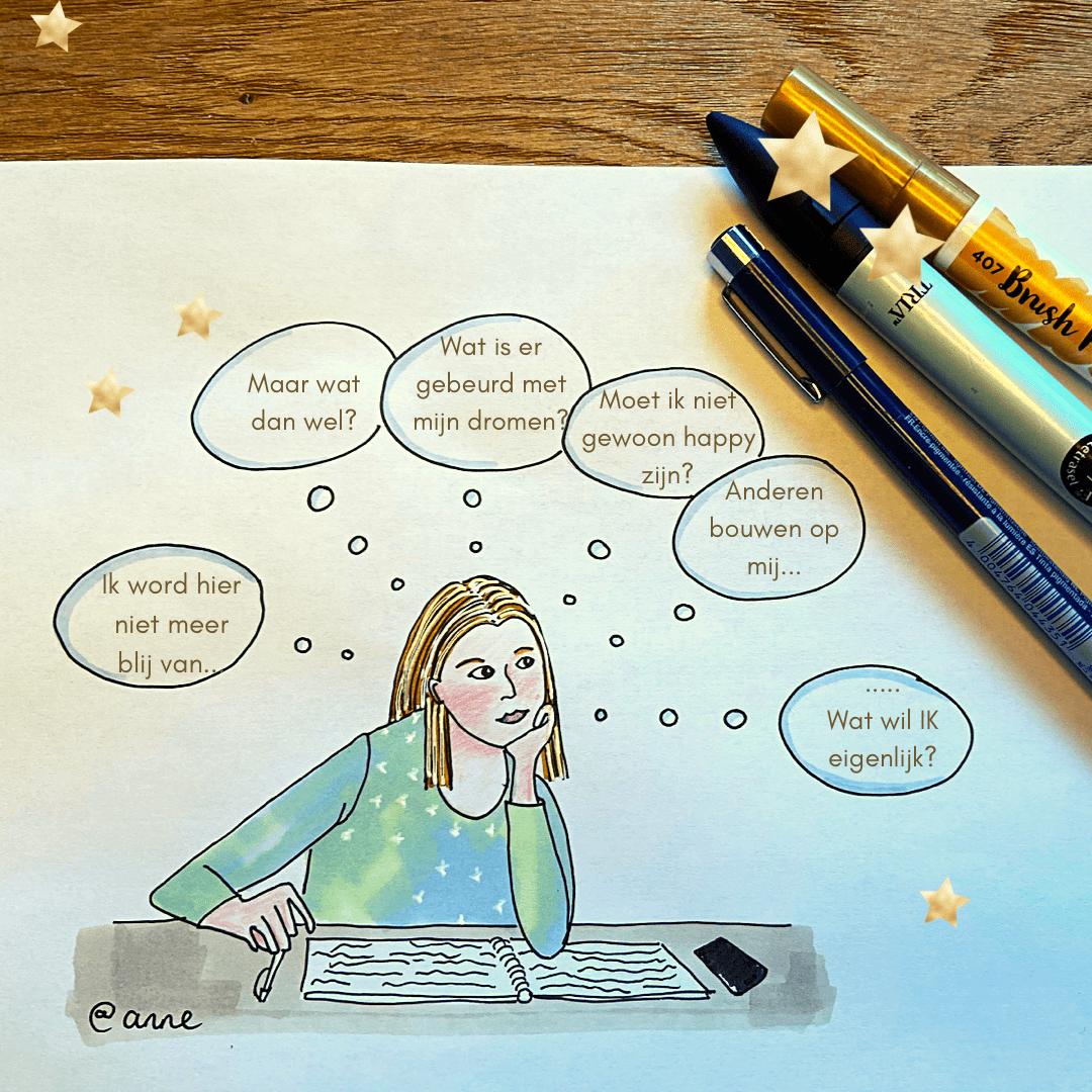 website tekening