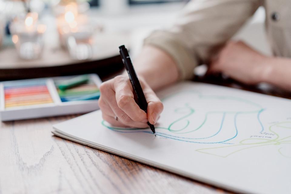 Tekenend, visualiserend en schrijvend te werk