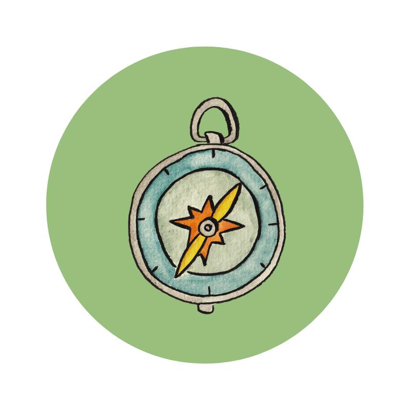 cirkel kompas